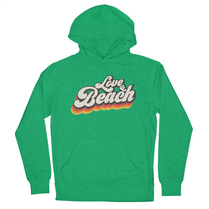 Love & Beach Men's Pullover Hoody by YANMOS