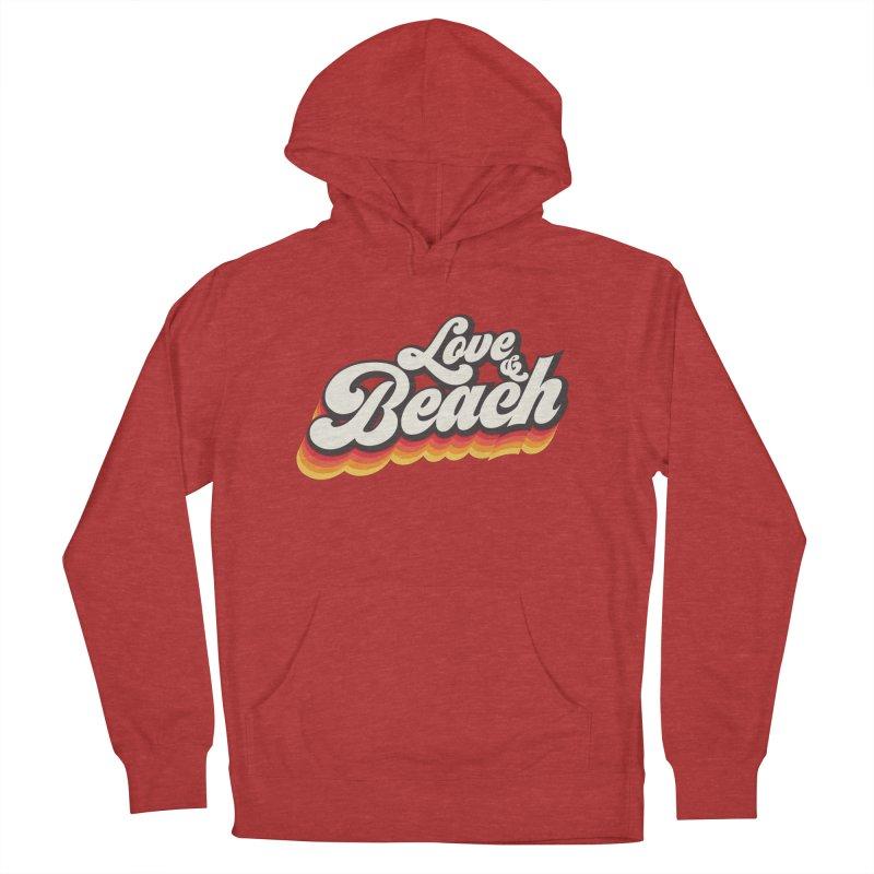 Love & Beach Men's Pullover Hoody by YANMOS