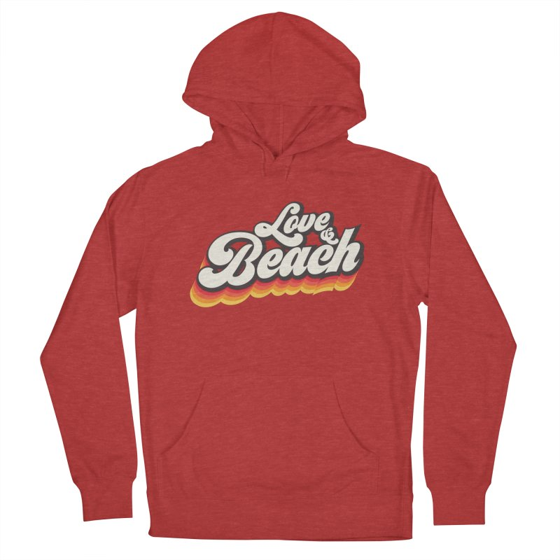 Love & Beach Women's French Terry Pullover Hoody by YANMOS