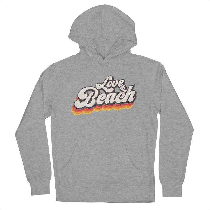 Love & Beach Men's French Terry Pullover Hoody by YANMOS