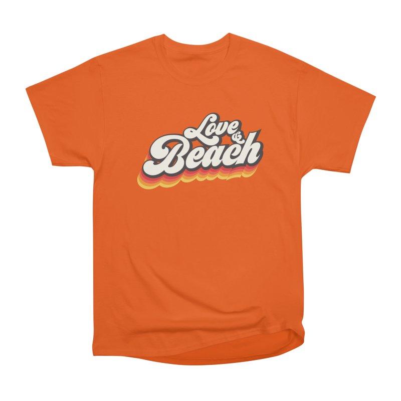 Love & Beach Men's Heavyweight T-Shirt by YANMOS