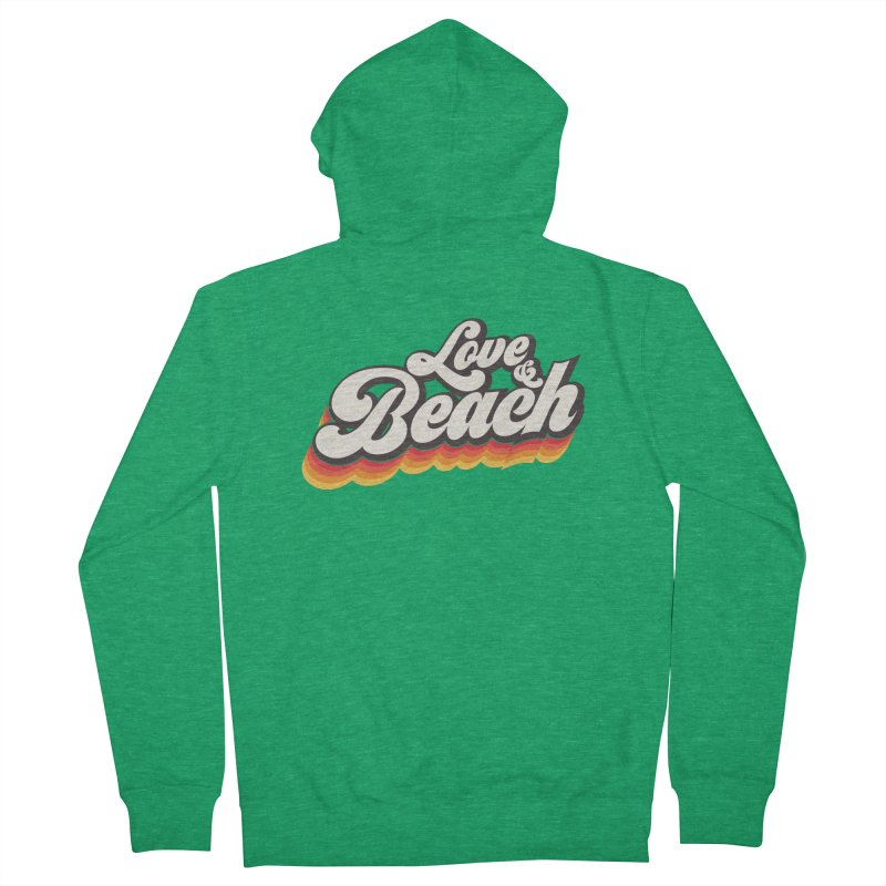 Love & Beach Women's French Terry Zip-Up Hoody by YANMOS