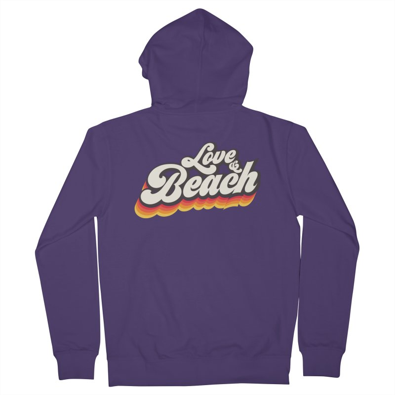 Love & Beach Women's French Terry Zip-Up Hoody by YANMOS