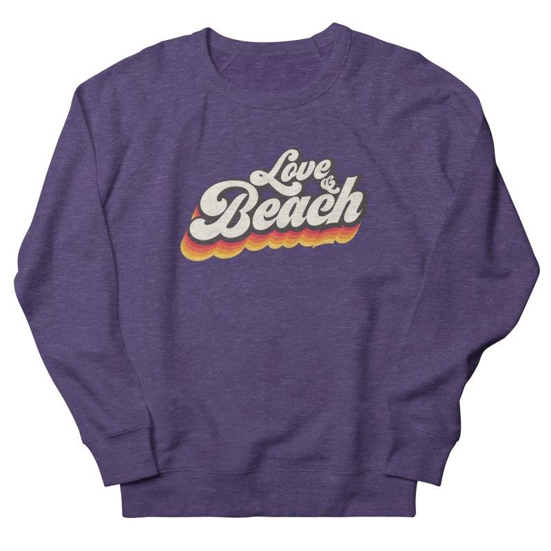 Love & Beach Men's French Terry Sweatshirt by YANMOS