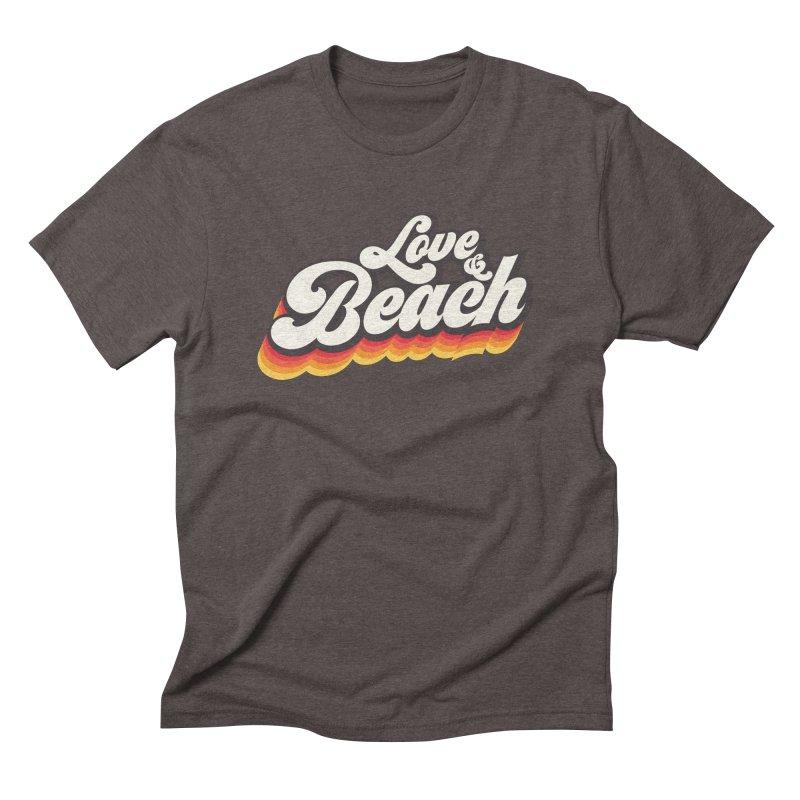 Love & Beach Men's Triblend T-Shirt by YANMOS