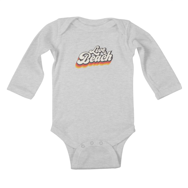 Love & Beach Kids Baby Longsleeve Bodysuit by YANMOS