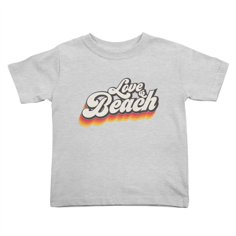Love & Beach Kids Toddler T-Shirt by YANMOS