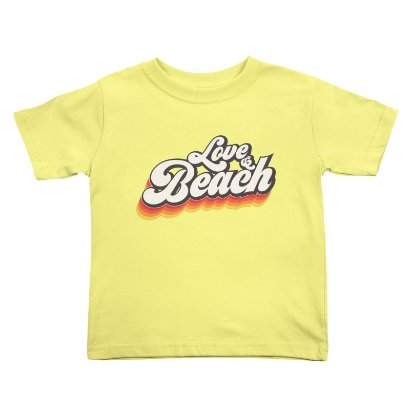 Love & Beach Kids Toddler T-Shirt by YANMOS