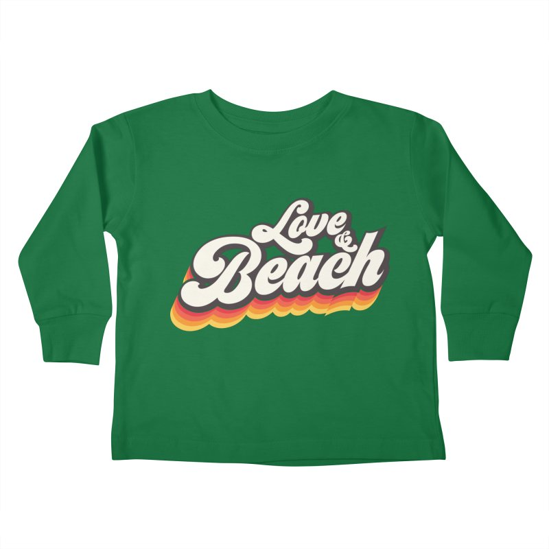Love & Beach Kids Toddler Longsleeve T-Shirt by YANMOS