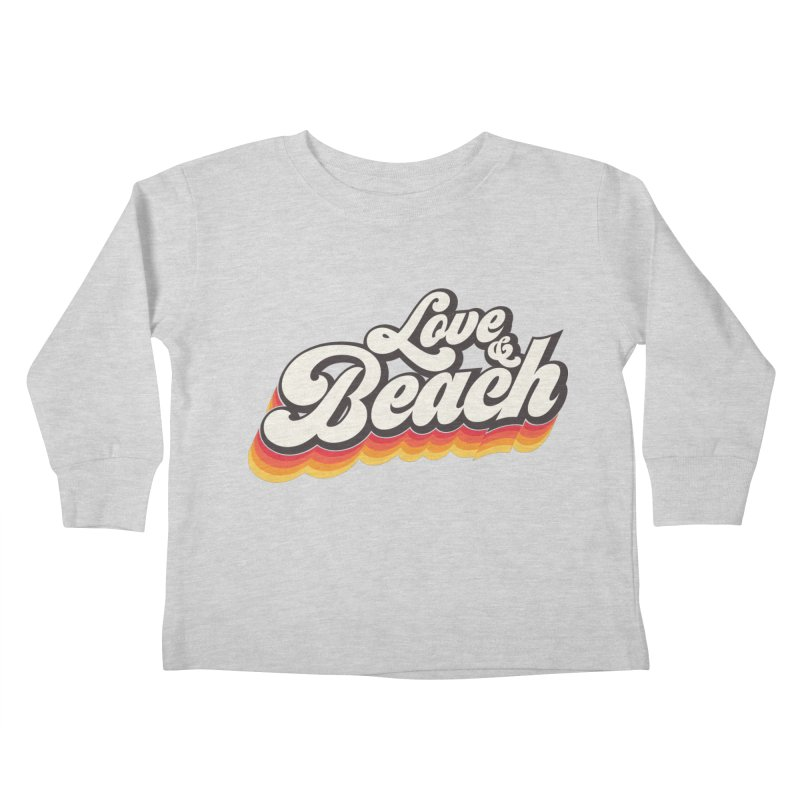 Love & Beach Kids Toddler Longsleeve T-Shirt by YANMOS