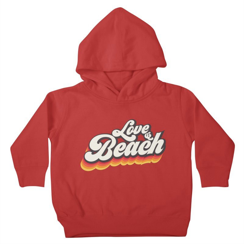 Love & Beach Kids Toddler Pullover Hoody by YANMOS