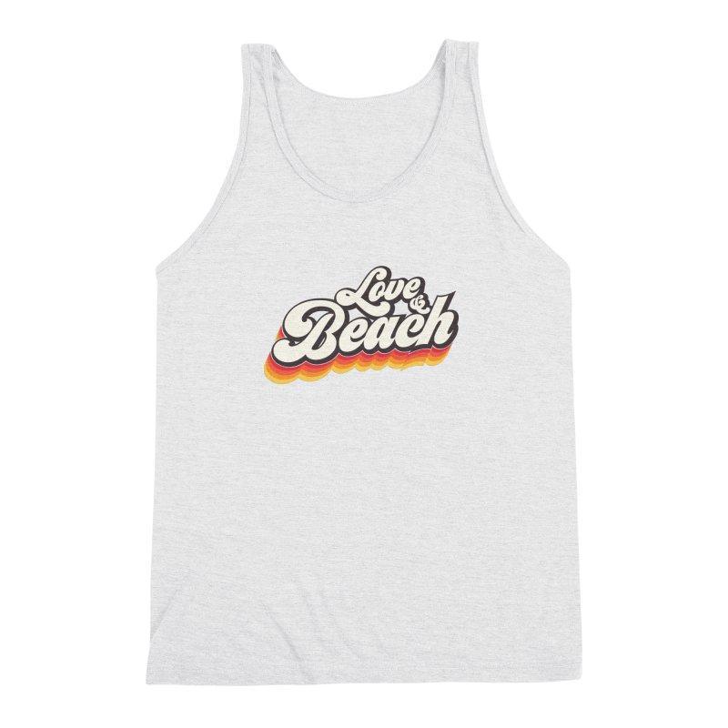 Love & Beach Men's Triblend Tank by YANMOS