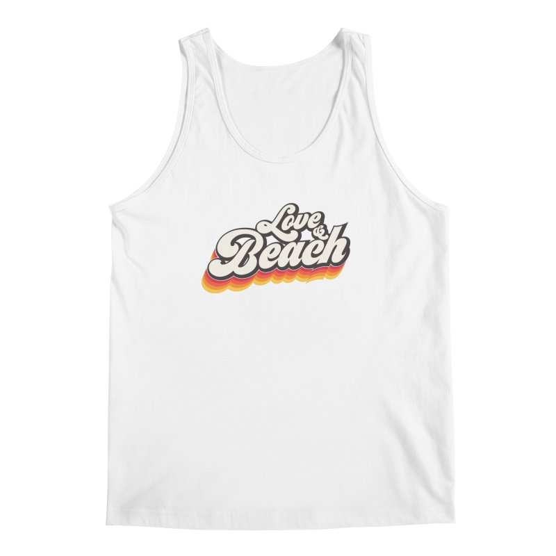 Love & Beach Men's Regular Tank by YANMOS