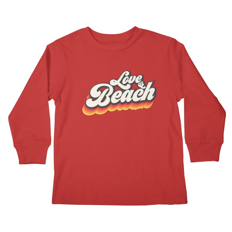 Love & Beach Kids Longsleeve T-Shirt by YANMOS