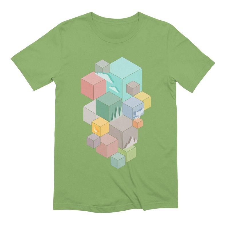 Natural habitat Men's Extra Soft T-Shirt by YANMOS
