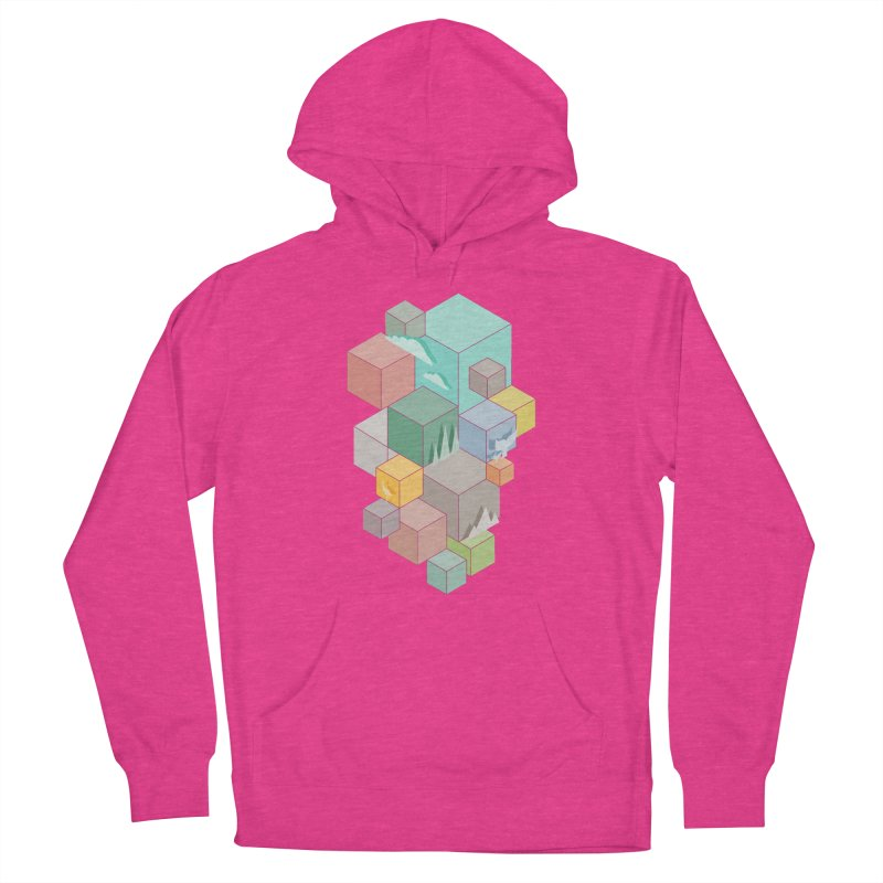 Natural habitat Women's French Terry Pullover Hoody by YANMOS