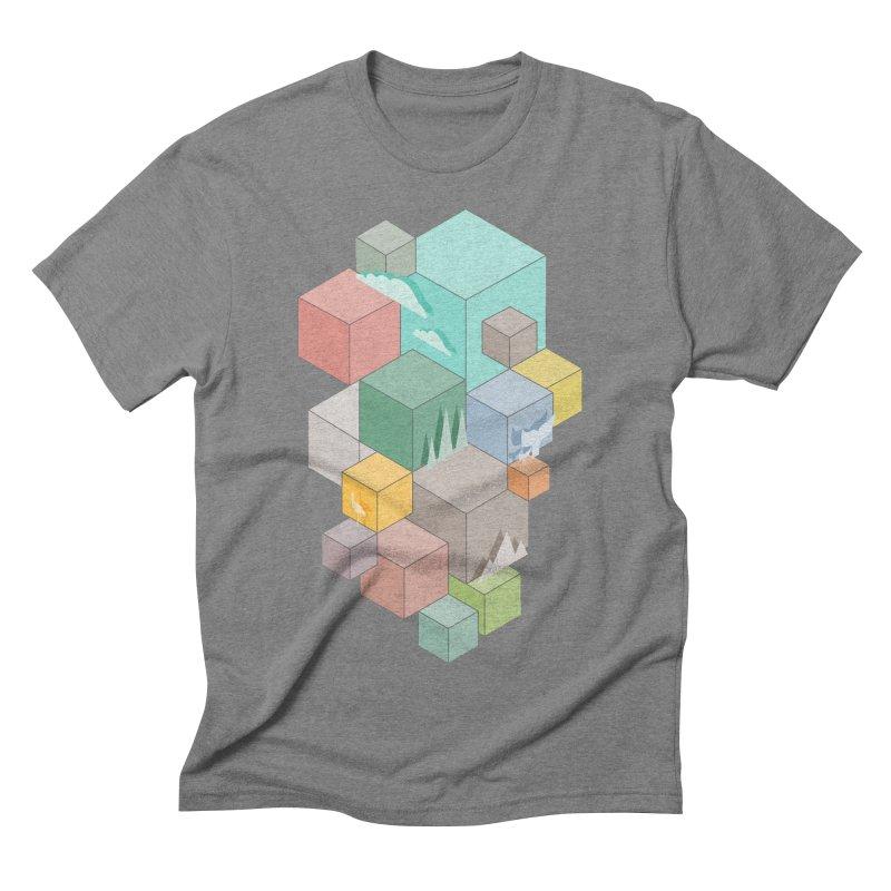 Natural habitat Men's Triblend T-Shirt by YANMOS