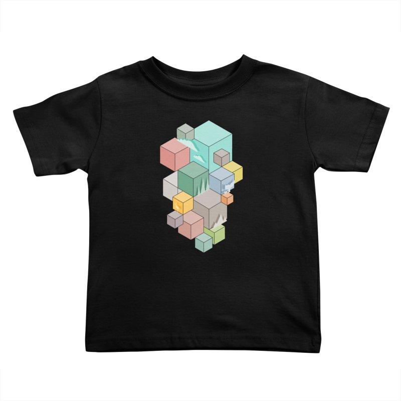 Natural habitat Kids Toddler T-Shirt by YANMOS
