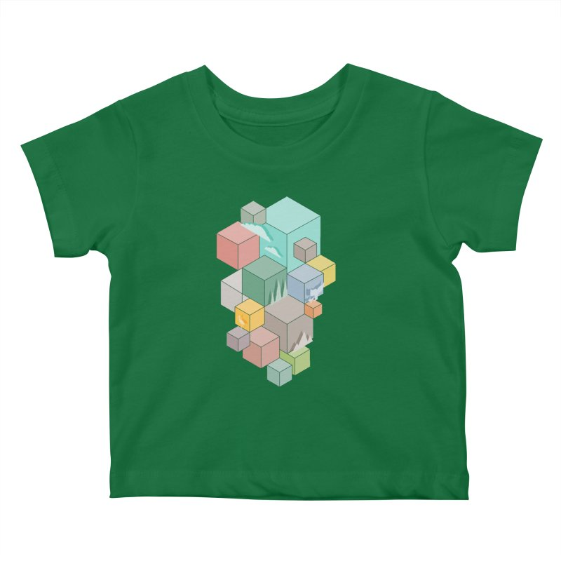 Natural habitat Kids Baby T-Shirt by YANMOS