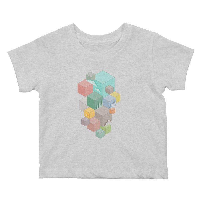 Natural habitat Kids Baby T-Shirt by YANMOS