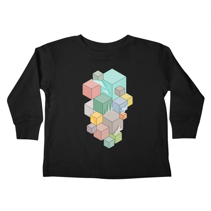 Natural habitat Kids Toddler Longsleeve T-Shirt by YANMOS