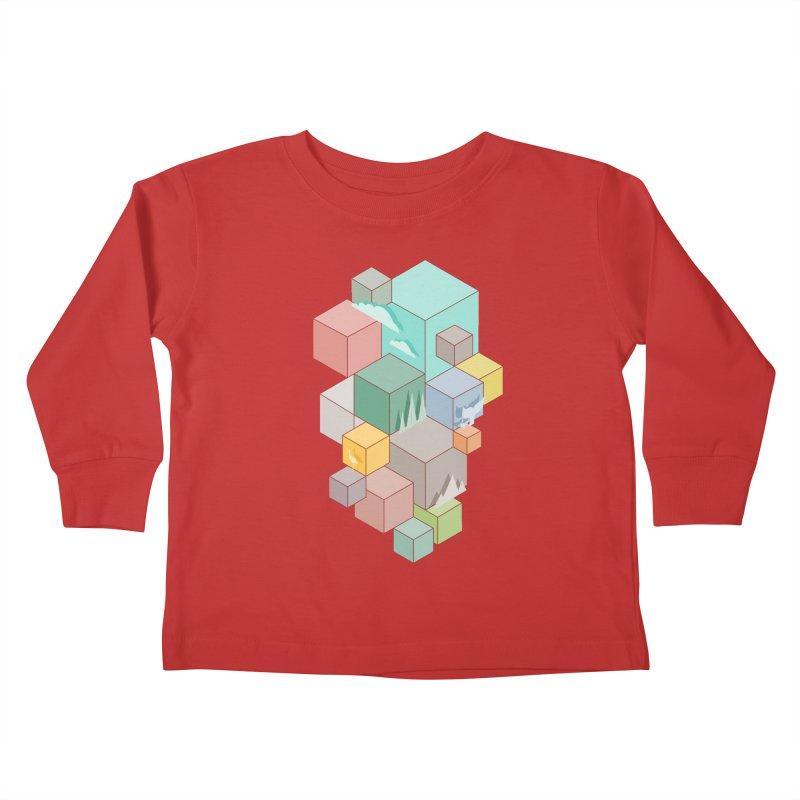 Natural habitat Kids Toddler Longsleeve T-Shirt by YANMOS