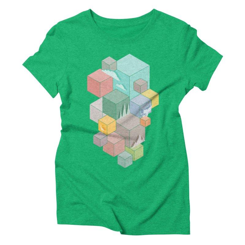 Natural habitat Women's Triblend T-Shirt by YANMOS