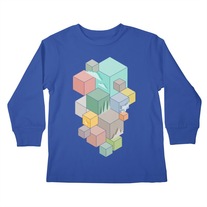Natural habitat Kids Longsleeve T-Shirt by YANMOS