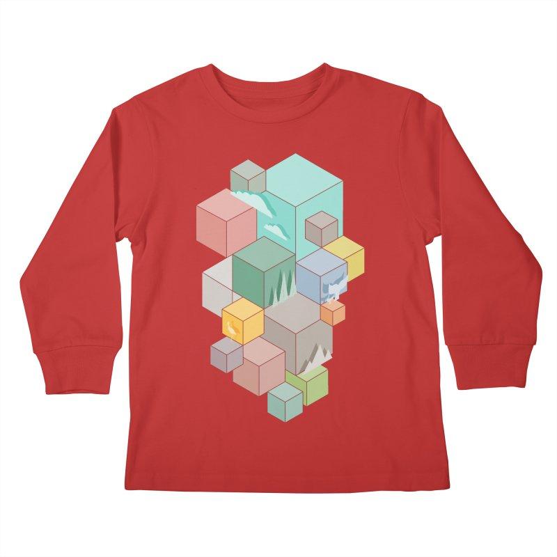 Natural habitat Kids Longsleeve T-Shirt by YANMOS