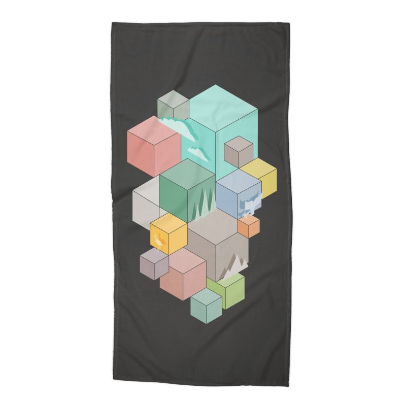 Natural habitat Accessories Beach Towel by YANMOS