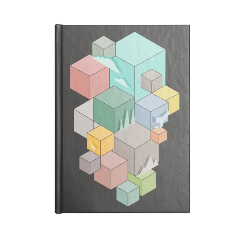 Natural habitat Accessories Lined Journal Notebook by YANMOS
