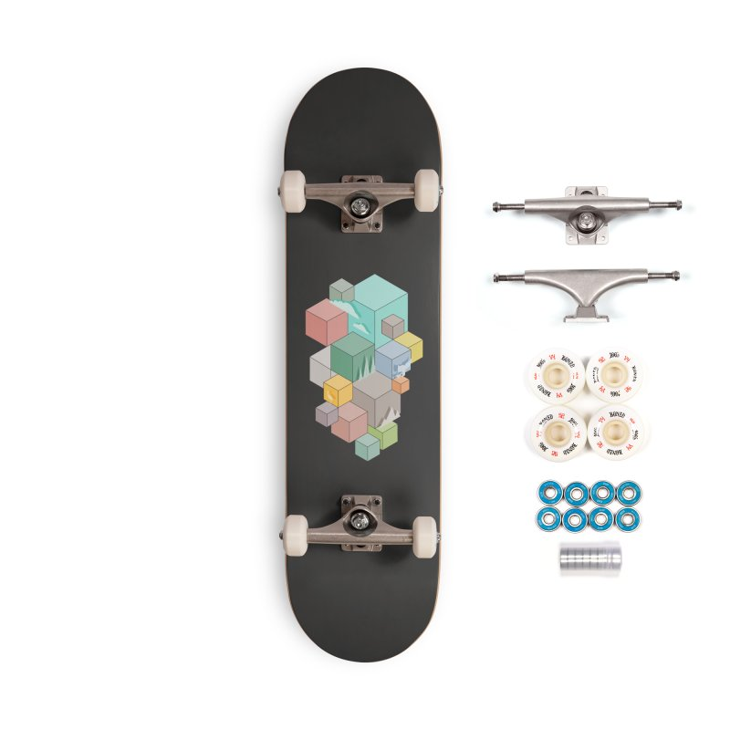 Natural habitat Accessories Complete - Premium Skateboard by YANMOS