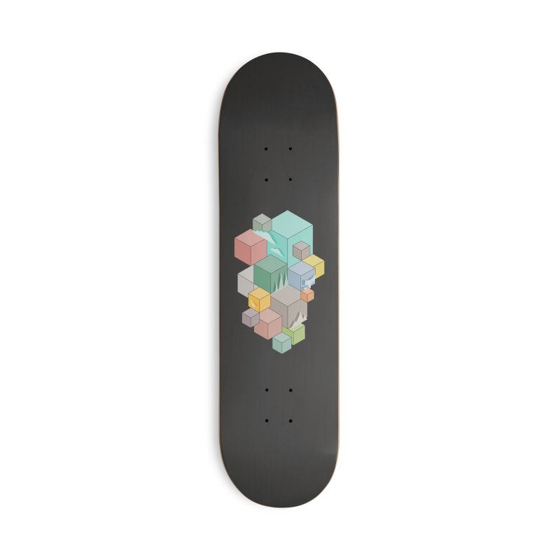 Natural habitat Accessories Deck Only Skateboard by YANMOS