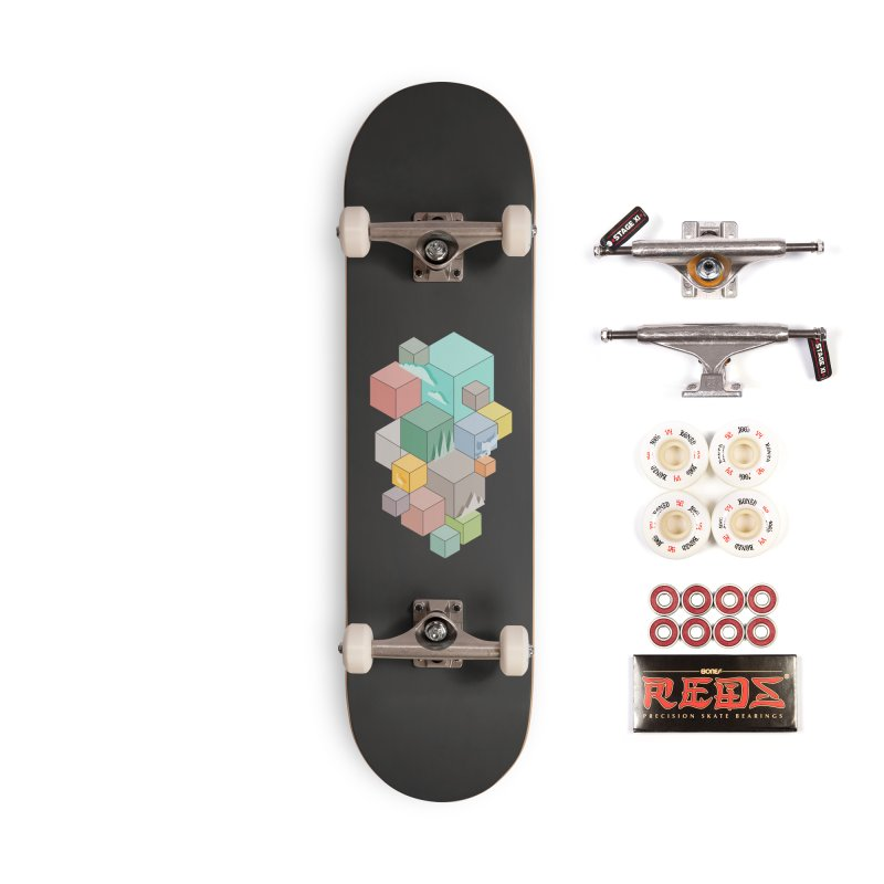 Natural habitat Accessories Complete - Pro Skateboard by YANMOS
