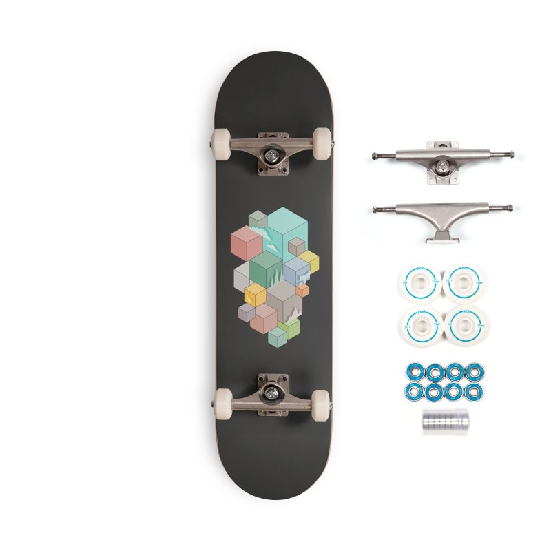 Natural habitat Accessories Complete - Basic Skateboard by YANMOS
