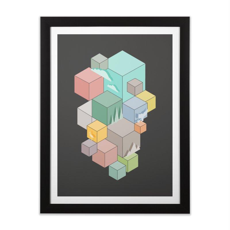 Natural habitat Home Framed Fine Art Print by YANMOS