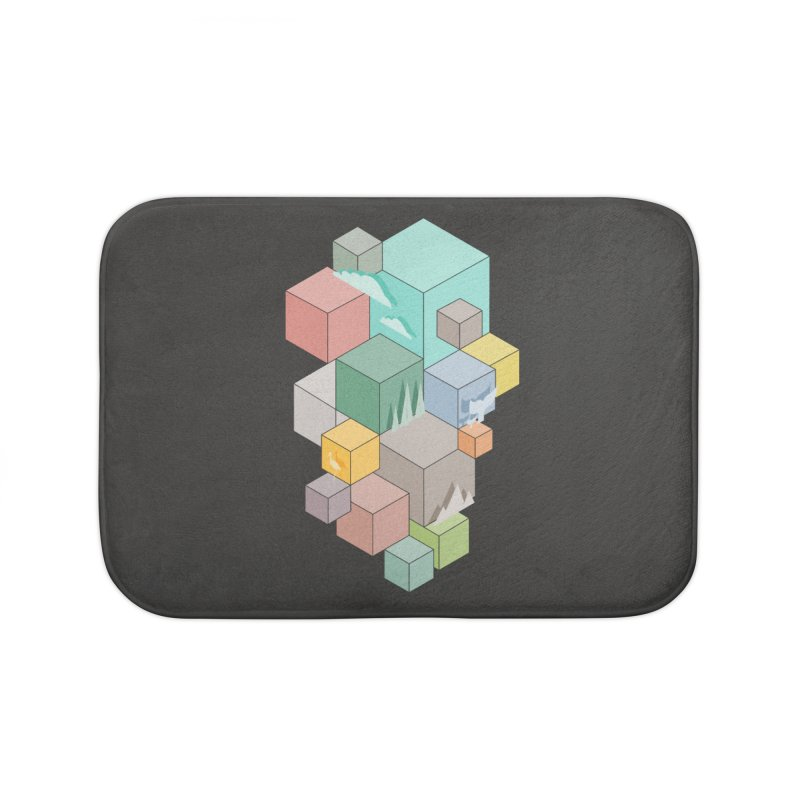 Natural habitat Home Bath Mat by YANMOS