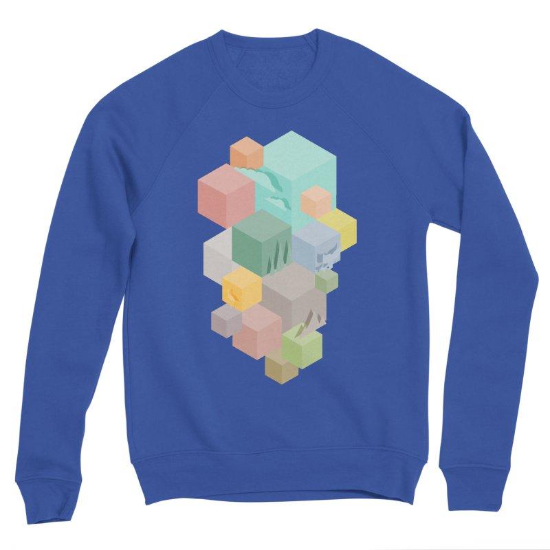 Natural habitat Men's Sponge Fleece Sweatshirt by YANMOS