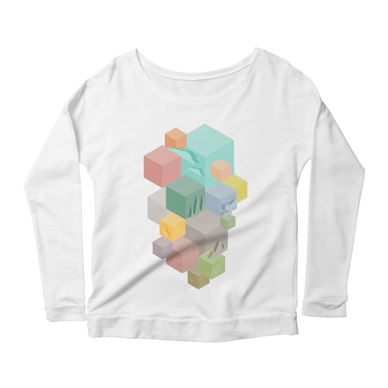Natural habitat Women's Scoop Neck Longsleeve T-Shirt by YANMOS