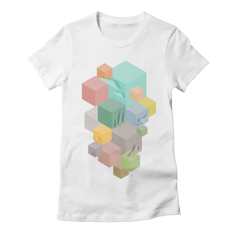 Natural habitat Women's Fitted T-Shirt by YANMOS