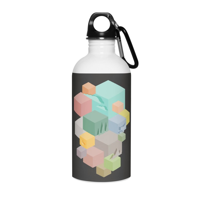 Natural habitat Accessories Water Bottle by YANMOS