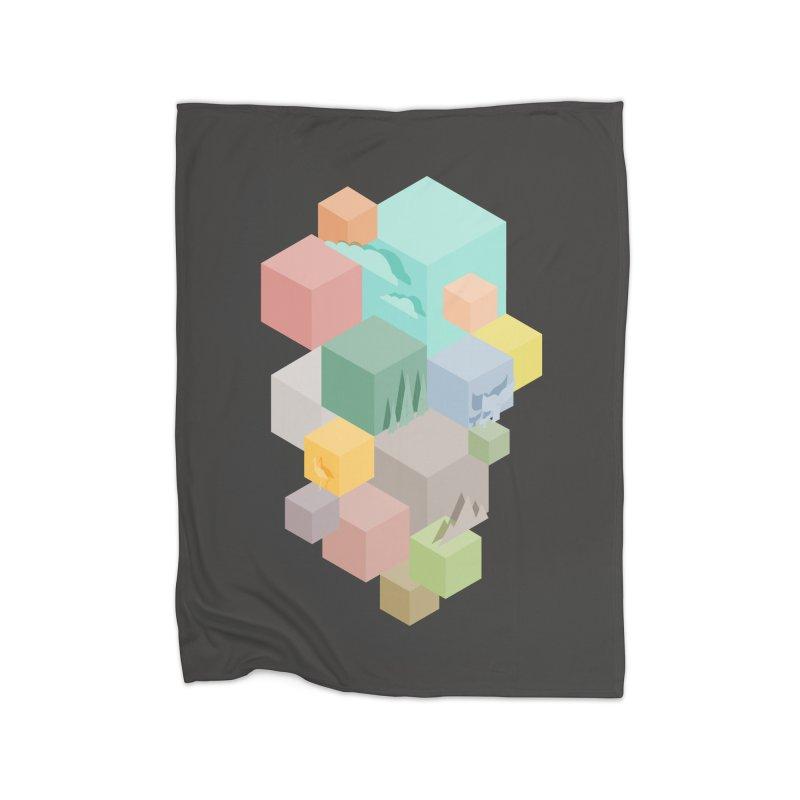 Natural habitat Home Blanket by YANMOS