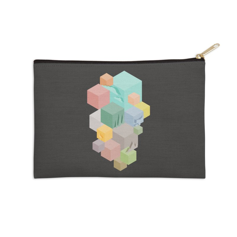 Natural habitat Accessories Zip Pouch by YANMOS