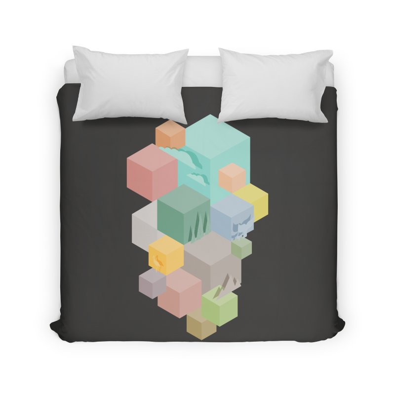 Natural habitat Home Duvet by YANMOS