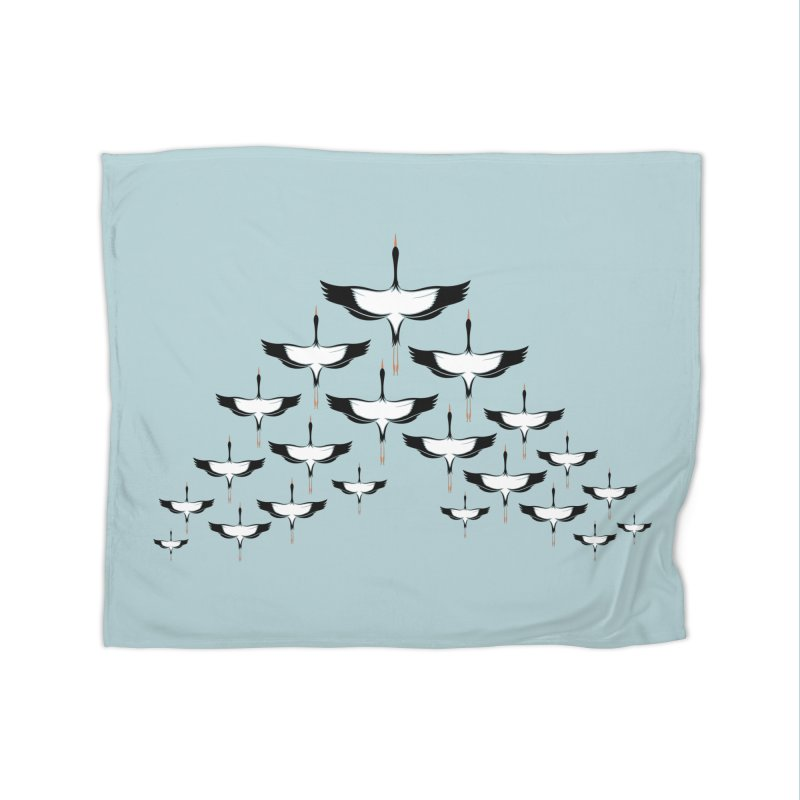 V-formation Home Blanket by YANMOS