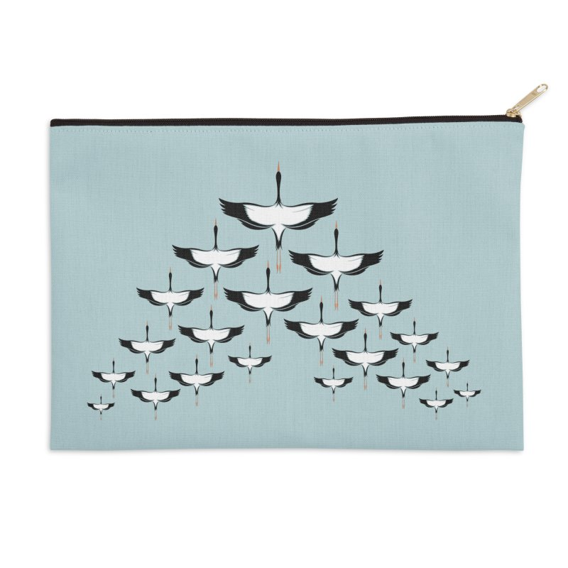 V-formation Accessories Zip Pouch by YANMOS