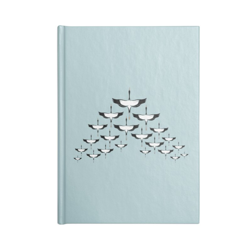 V-formation Accessories Notebook by YANMOS