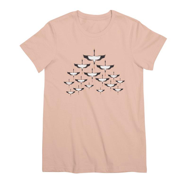 Chevron Women's Premium T-Shirt by YANMOS