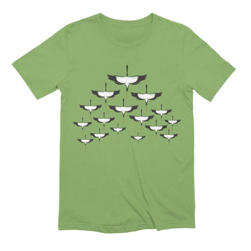 Chevron Men's Extra Soft T-Shirt by YANMOS