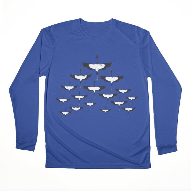 Chevron Men's Performance Longsleeve T-Shirt by YANMOS